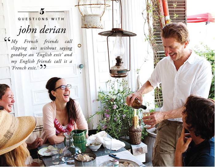 John Derian courtesy of Bon Appetit