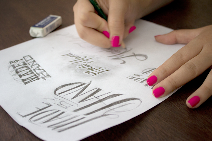 Paperless Post Hand Lettering