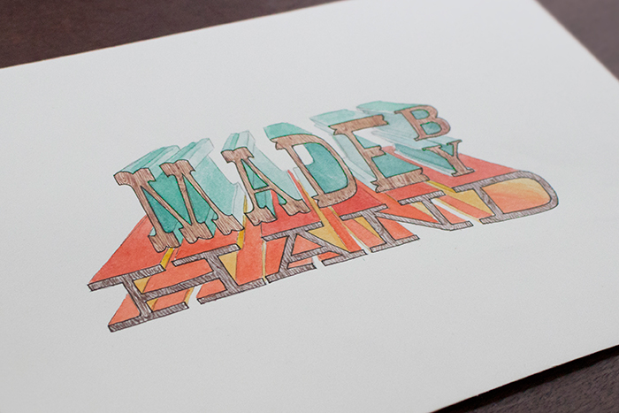 Paperless Post hand-lettering